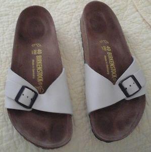 Birkenstock Madrid Sandals Pearl Size 40